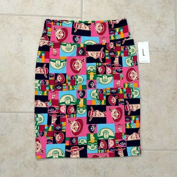 Lularoe Disney Buzz Cassie Skirt Sz XS NWT NEW